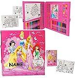 Unbekannt 200 tlg. Set: XXL Stifte-Koffer -  Disney Princess / Prinzessinnen  Incl. NA..