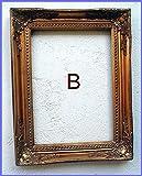 Graf von Gerlitzen Gemaelde Gemälde Bild Barock Holz Gold Stuck Bilderrahmen Rahmen B