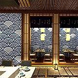 AYMAYO Papier peint japonais Motif vague japonaise, Imprimé 1