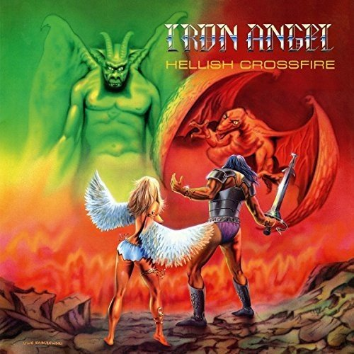 Iron Angel: Hellish Crossfire (Coloured Vinyl) [Vinyl LP] (Vinyl)