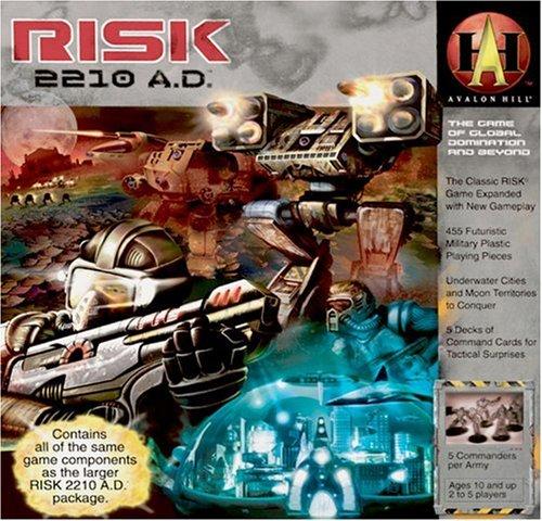 Milton Bradley 88600 - Juego Mesa Risk 2210 A.D. Guerra