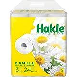 """Hakle Toiletpapier""""Natuurlijk Verzorgend Met Kamille En Aloë Vera"""" 3-Laags, 1 Stuks (1 X 24 Stuks)"""