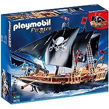 Playmobil Galeone dei Pirati, 3 Pezzi,, 6678
