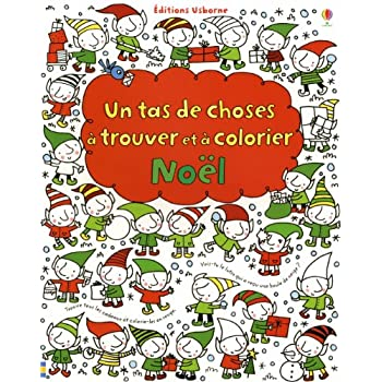 CHOSES A TROUVER COLORIER NOEL