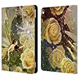 Head Case Designs Offizielle Myles Pinkney Karamellbonbon Fantasy Brieftasche Handyhülle aus Leder für iPad Pro 10.5 (2017)
