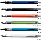 Uni KURU TOGA ADVANCE M5-559 0.5mm Mechanical Pencils with Free 5-Color Sticky Notes - Light Blue Pack of 5