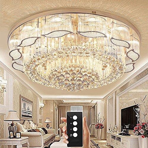 Wenrun illuminazione soggiorno LED 3 luminosità K9 cristallo e S oro ...