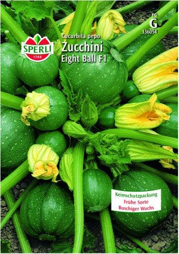Zucchini Eight Ball
