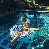 Multicolor cabin Bouées Sirène à La Plage De Essentielle Vacances Pool Party Gonflablepour Jouets Convient pour Adultes et Enfant (Sirène)