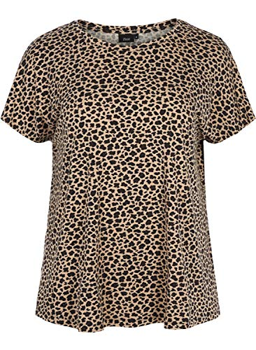 4d42d8bb Leopard print t-shirts searched at the best price in all stores Amazon
