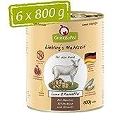 Liebling's - Cibo umido per pasto, agnello e patate, confezione da 6 (6 x 800 g)