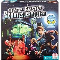 Mattel Games Y2554 - Geister Geister Schatzsuchmeister, Kinderspiel des Jahres 2014, Strategie- und Brettspiel, 2 bis 4 Spieler, ab 8 Jahren