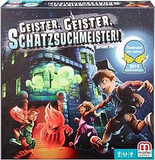 Mattel Games Y2554 - Geister Geister Schatzsuchmeister, Kinderspiel des Jahres 2014, Strategie- und Brettspiel, 2 bis 4 Spieler, ab 8 Jahren (B00C6Q3FEO) | Amazon Products