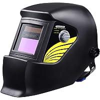 Monzana Automatik Schweißhelm   großes Sichtfeld   für alle gängigen Schweißtechniken   Schweißmaske Schweißschirm Solar