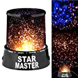 Urban Living Star Master Projector With Usb Wire Turn Any Room Into A Starry Sky(13.4 Cm,Black)