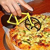 Topbest Fahrrad Pizzaschneider 100 % Essen Grade Edelstahl Doppel Pizza Schneider