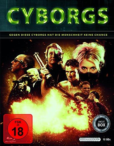 Cyborgs (10er-Schuber: Nemesis 1-4, Hologram Man, The Demolitionist, American Cyborg, Slin Preisvergleich