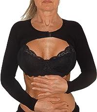 Mini top Stringi braccia rassodante compressione alta per Lipedema, Linfedema, misure forti