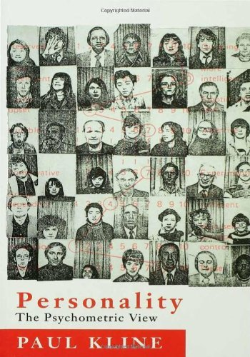 Personality: The Psychometric View by Paul Kline (1993-07-01)