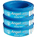 Angelcare 3 Nachfüllkassetten für Windeleimer Comfort, Deluxe und Comfort Plus