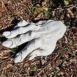 Originelle Deko für Terrarium überdimensionale Hand Stein frostfest