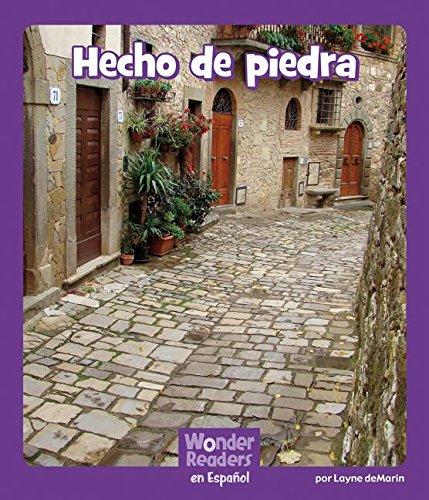 Hecho de Piedra (Wonder Readers Spanish Fluent) por Layne Demarin