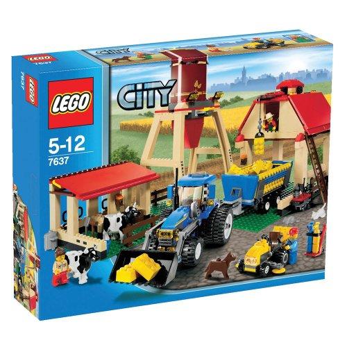 LEGO City 7637 - Bauernhof (Lego City Bauernhof-tiere)