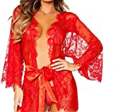 Zhongsufei Womens Lingerie Cardigan Sexy Translucent Lace Cardigan - Best Reviews Guide