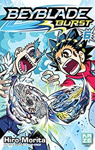 Book's Cover ofBeyblade Burst tome 6