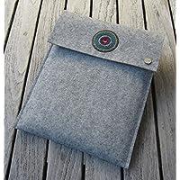 "zigbaxx Tablet Hülle IBIZA Case Sleeve Filz u.a. für Amazon Fire HD 7/8/10, Samsung Galaxy Tab A/E, Lenovo Yoga Tab 3-10""/ Tab 4-10""/Tab 4-8"", Sony Xperia Z3-8""/Z4-10"", Huawei Media Pad M3-10.1"" - 100% Wollfilz - pink schwarz beige grau braun - Geschenk Weihnachten Geburtstag Valentinstag"