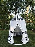 Erstklassiges Weiß Indianerzelt Tipi für Kinder. Kinder Spielzelt / Spielhaus / Wigwam von (Integrity co)