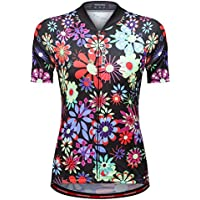 arvin87lyly Mujeres Jersey manga corta Sport Top Bike Mountain Bike Outdoor Sportswear comodidad transpirable