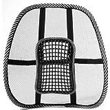 Zehui - Cojín lumbar de malla para asiento de coche
