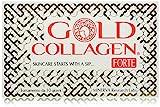 GOLD COLLAGEN FORTE 10 fl INTEGRATORE LIQUIDO DI BELLEZZA PER PELLE, UNGHIE E CAPELLI PER DONNE MATURE.