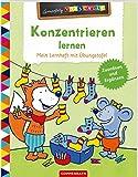 Konzentrieren lernen: Mein Lernheft mit Übungstafel (Lernerfolg Vorschule)