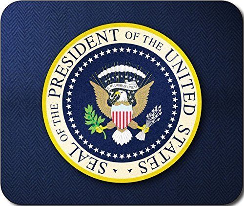 President of The United States Seal Large Mousepad Mouse Pad Great Gift Idea 250mm*300mm (Space Mouse Pro Wireless)