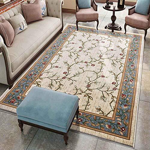 Carpets & rugtessili per la casa, tappeti per camere da letto stile country americano romantico, ornamenti classici con bordi, tappeti con stampa per soggiorno moderno tappeto di design stile shabby