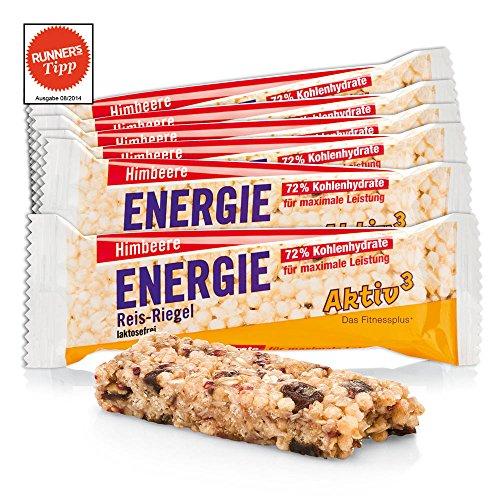 Energie Reis-Riegel Himbeere Aktiv3 · 11er-Packung