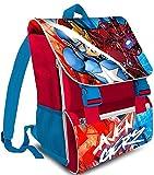 gibra Marvel Avengers Schultasche Schulrucksack, 44 cm, Art. 7502