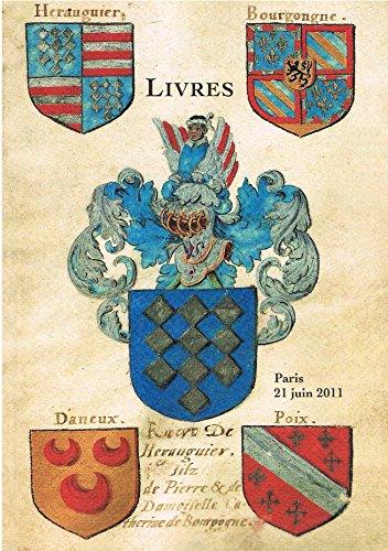Bibliothèque d'un Château de L'ARTOIS- Livres - Régionalisme- Généalogie & Héraldique - Libert -Mercier & CieVente du 21/06/2011 par Libert -Mercier & Cie