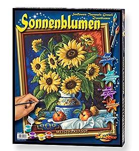 Schipper 609130308 Kit de pintura por números libro y página para colorear - Libros y páginas para colorear (Kit de pintura por números, Adulto, Niño/niña, 40 cm, 50 cm, Pintura acrílica)