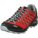 High Colorado - Zapatillas de Senderismo de Piel para Hombre Rojo Rojo
