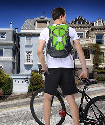Imagen de  de ciclismo,  bicicleta,ultraligero impermeable  casual hombro  para moto bicicleta deportes al aire libre caballo viaje de marcha montaña alternativa