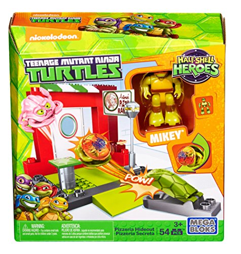 Mega Bloks Teenage Mutant Ninja Turtles Half-Shell