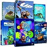 Pack Pixar Imprescindibles (El Viaje de Arlo + Inside Out (Del Revés) + Monstruos S.A. + Buscando A Nemo + Wall-E + Up)
