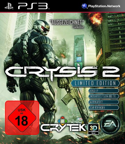 Crysis 2 - Limited Edition (uncut) (Crysis Ps3)