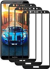Huawei Mate 10 Lite Panzerglas Schutzfolie (3 Stück), Hohe Qualität Glas Displayschutzfolie 9H Härtegrad, Ultra Klar,Anti-Kratzen, Anti-Fingerabdruck, Gehärtetes Glas Transparent Panzerglas Folie für Mate 10 Lite