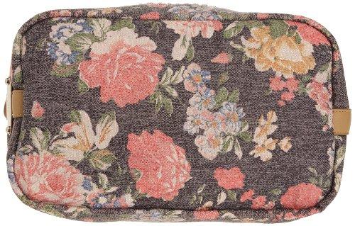 Friis & Company Flo Handbag, Damen Schultertasche Schwarz (Black)