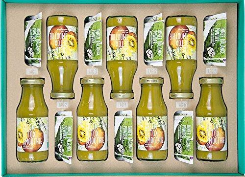 1 Saft (Detox-Kur | 1-Woche | 100% Vegan | Insgesamt 28 Superfood-Produkte | Entgiftung | Abnehmen | Body-Cleanse | Vitalität | 4 Produkte Täglich | Basischer Ernährungsplan | Fitnessübungen | Ernährungstipps & Gesundheitstipps)
