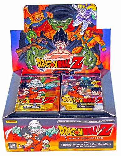2015 Panini DBZ Dragonball Z TCG Card Game - MOVIE COLLECTION Booster Box - 24 packs/12 cards (Dragon Ball-karten-box)
